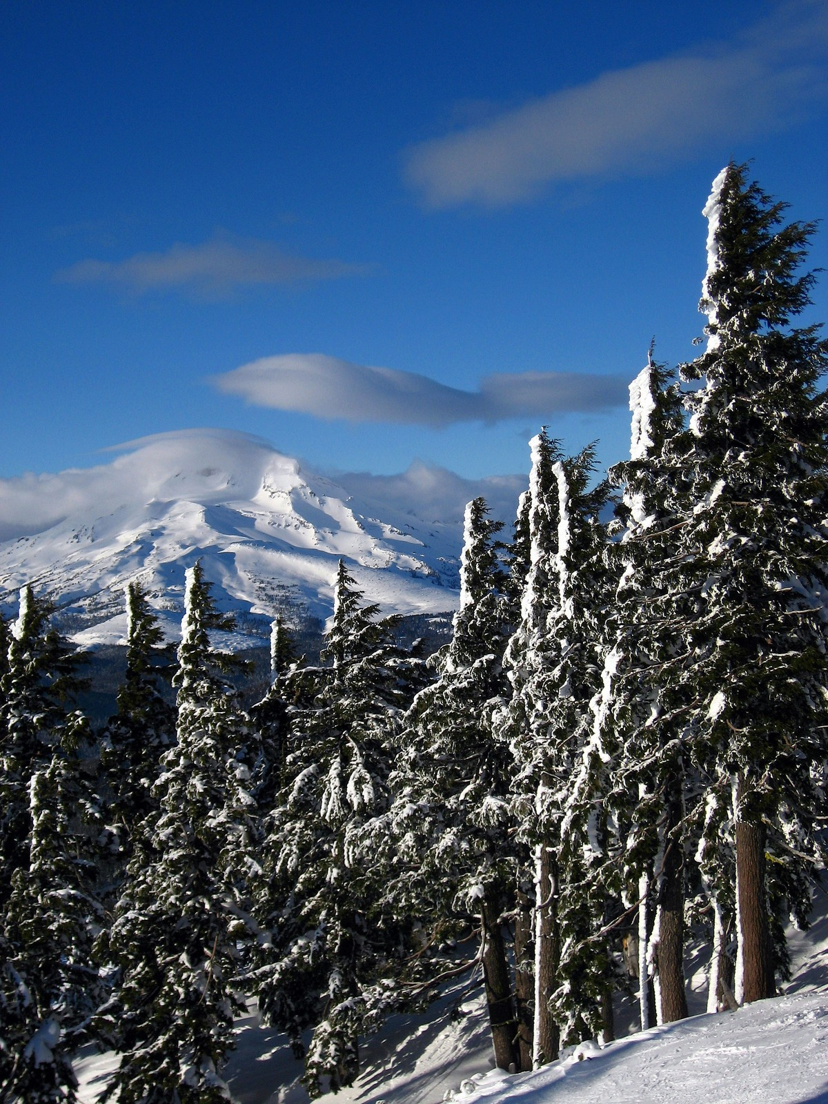 South Sister from Mt. Bachelor Ski Resort