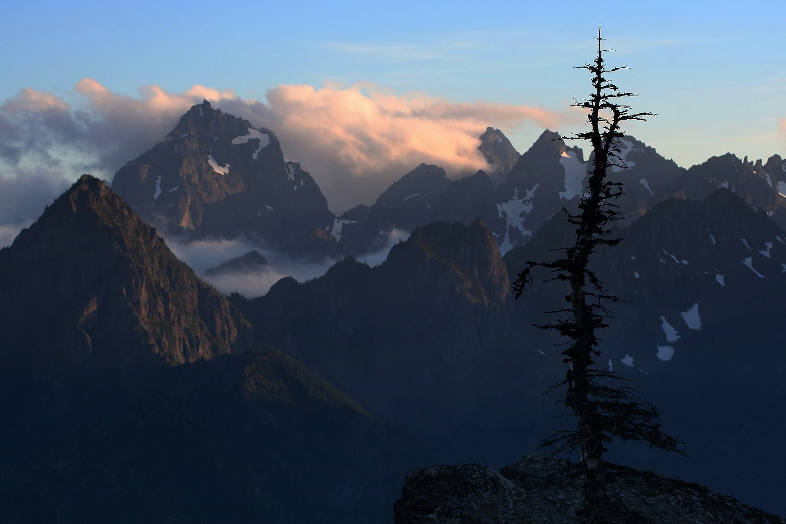 Mt. Constance and Warrior Peak, Olympic National Park