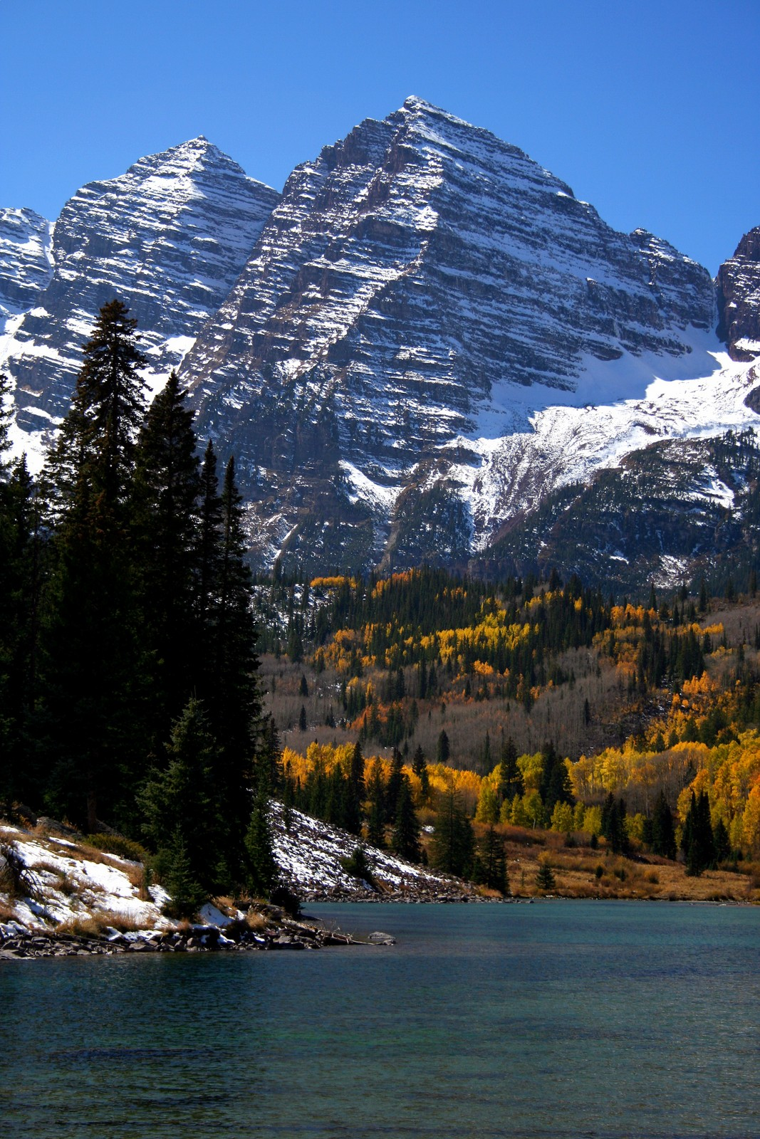 maroon bells lake at - photo #39