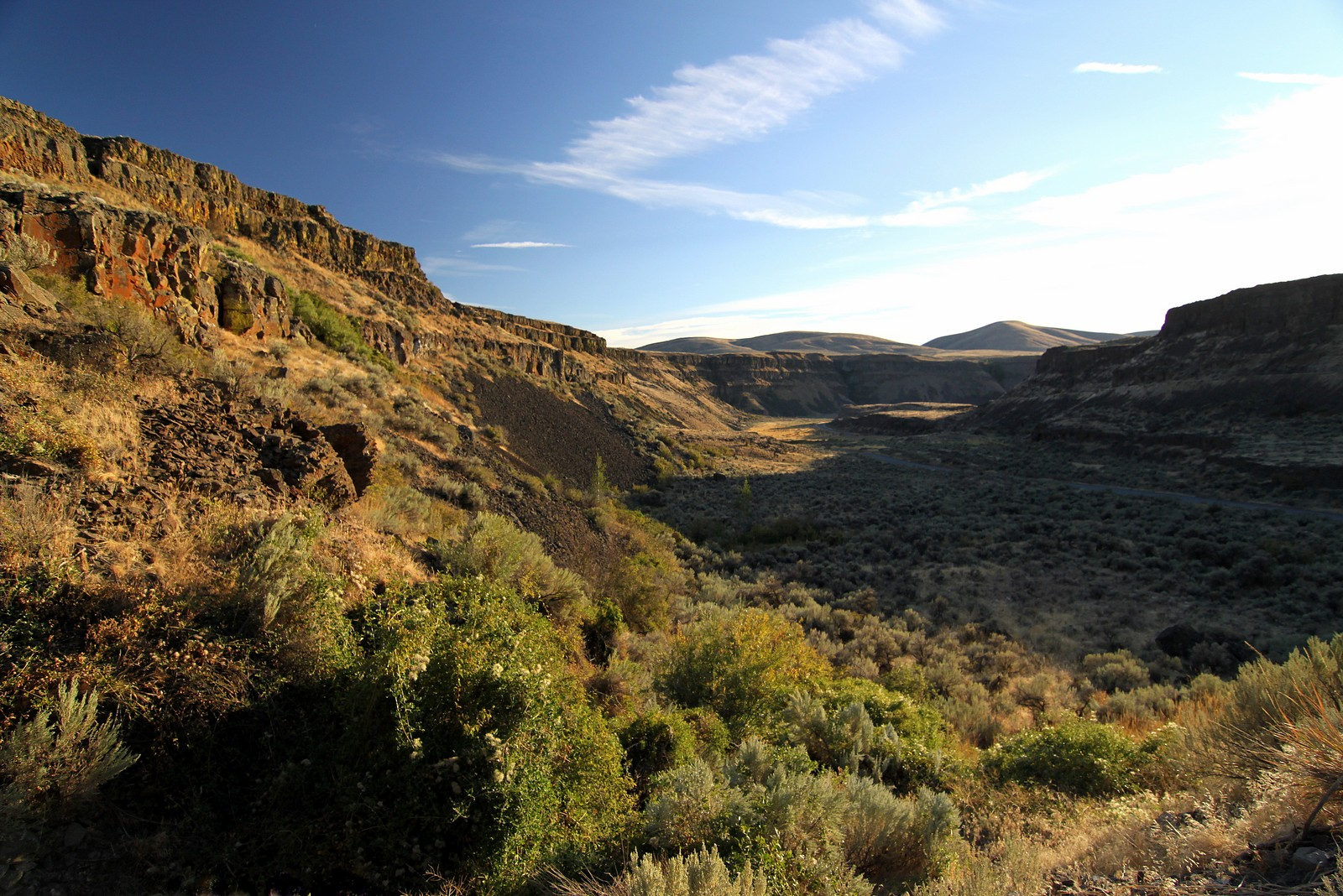 Moses Coulee, Channeled Scablands