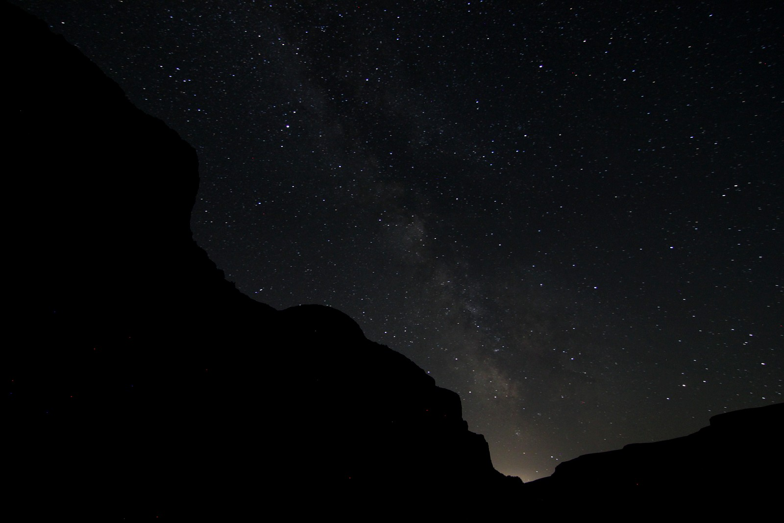Stars over Grand Coulee