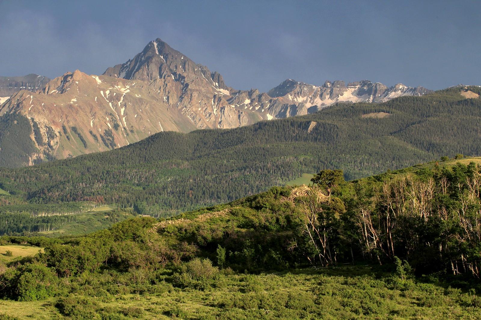 Mt. Sneffels from Dallas Divide