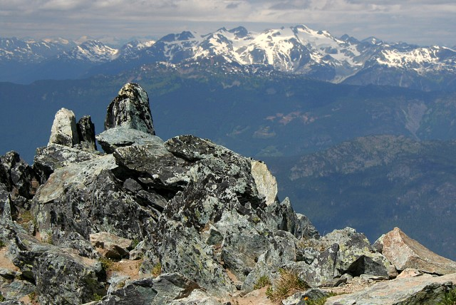 Hiking on Blackcomb Mountain