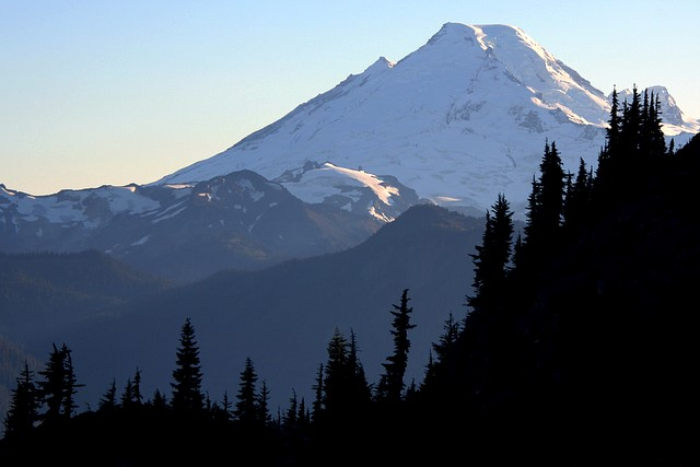 Mt. Baker from Yellow Aster Butte