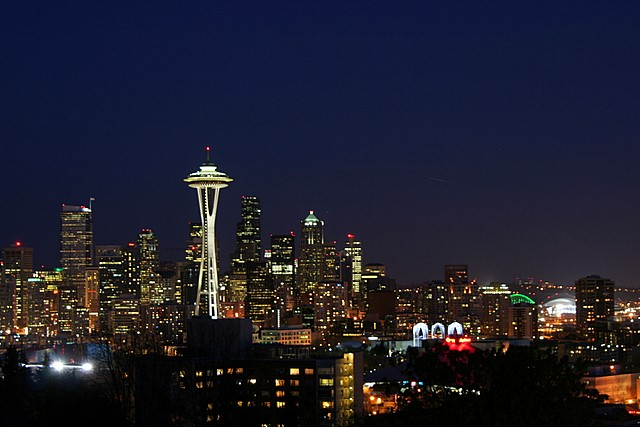 Seattle skyline, from Kerry Park