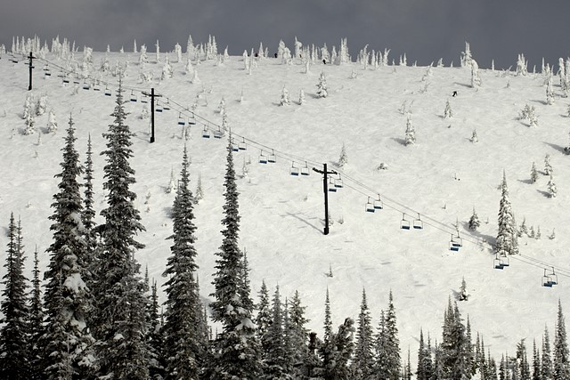Whitefish Mountain Resort<br>Whitefish, Montana<p>Camera: Canon EOS Rebel T1i<br>Quantaray 70-300 mm lens