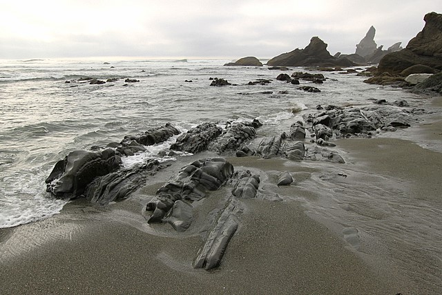 Shi Shi Beach<br>Olympic National Park<br>Washington State<p>Camera: Canon EOS Rebel T1i<br>Canon 10-22 mm lens