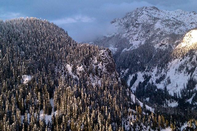 Sunset at Summit West<br>Washington State<p>Camera: HTC Evo 4g