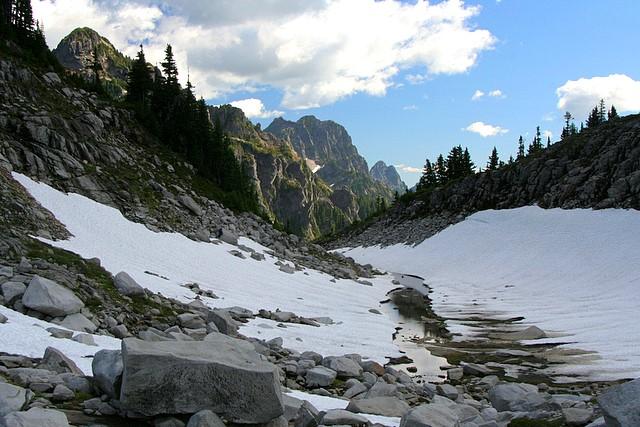 Lake Elan / Vesper Lake Drainage<br>Mt. Baker-Snoqualmie National Forest<br>Washington State<p>Camera: Canon EOS Rebel XT<br>Tamron 28-300mm VC lens