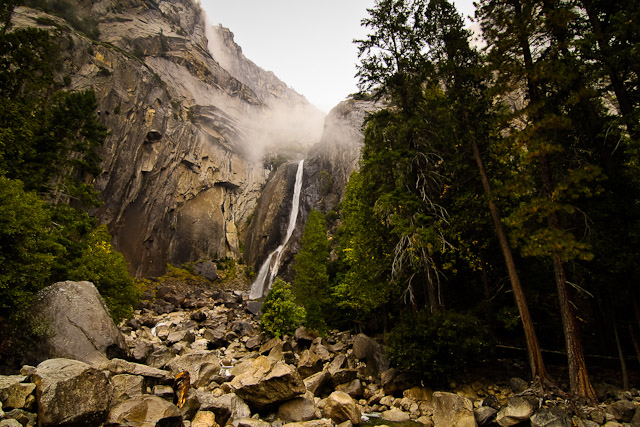 Yosemite Falls<br>Yosemite National Park, California<p>Camera: Canon EOS Rebel T1i<br>Tokina 11-16mm f/2.8 lens