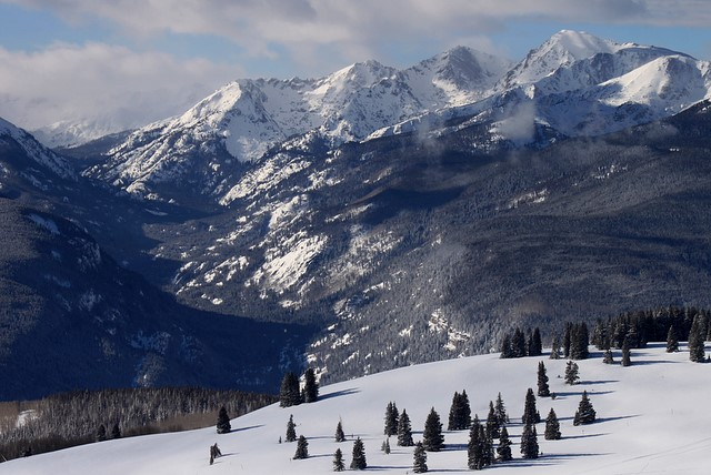 Vail's Back Bowls and the Gore Range